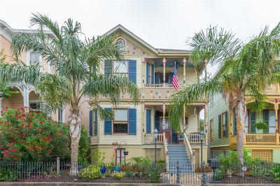 Galveston Single Family Home For Sale: 1815 Ball Street