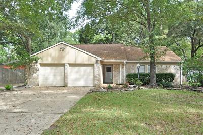 Kingwood Single Family Home For Sale: 3211 Holly Green Drive