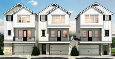 Houston Single Family Home For Sale: 1330 Dian Street #B