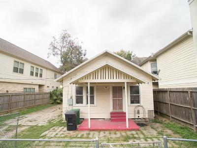 Houston Single Family Home For Sale: 1401 Asbury Street