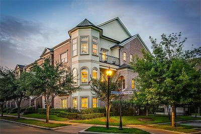The Woodlands Condo/Townhouse For Sale: 2 History Row