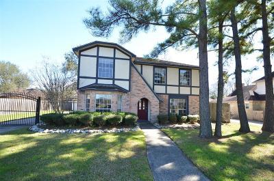 Jersey Village Single Family Home Pending: 8221 Rio Grande Street