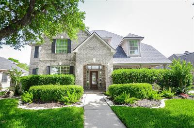 Katy Single Family Home For Sale: 22410 Bridgehaven Drive