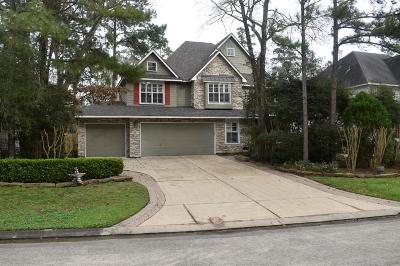 The Woodlands Single Family Home For Sale: 46 Lightwood Trace