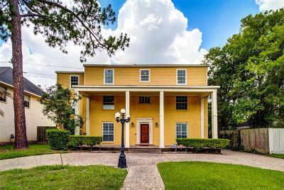 Houston Single Family Home For Sale: 5530 Ardmore Street