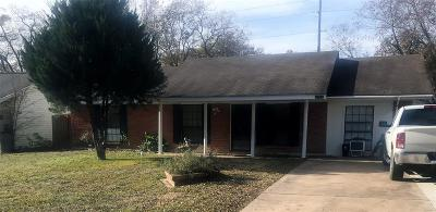 Madison County, Brazos County Single Family Home For Sale: 2314 Wilkes Street