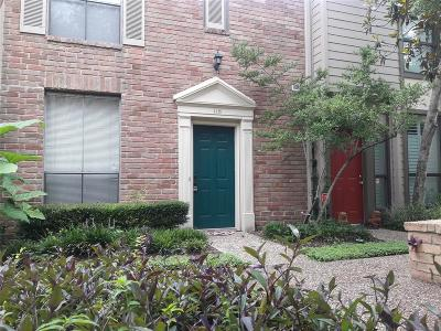 Harris County Condo/Townhouse For Sale: 1201 McDuffie Street #118