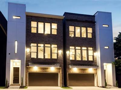 Houston Condo/Townhouse For Sale: 209 Burr Street #B