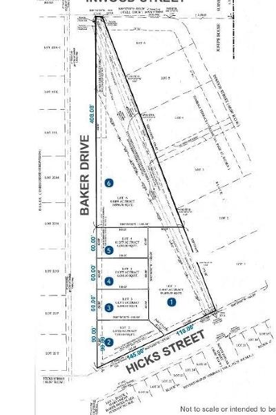 Tomball Residential Lots & Land For Sale: Baker Street