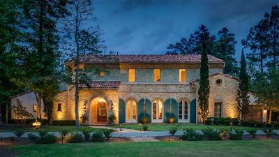 The Woodlands Single Family Home For Sale: 50 Mediterra Way