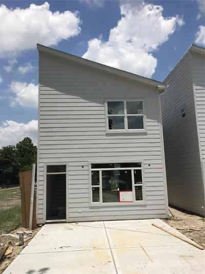 Houston Single Family Home For Sale: 115 E 32nd Street #B