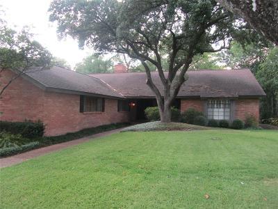 Houston Single Family Home For Sale: 1108 River Glynn Drive
