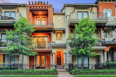 Houston Condo/Townhouse For Sale: 14524 Vintage Preserve Parkway