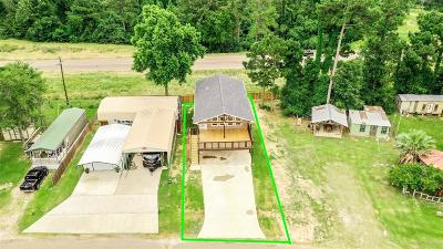 San Jacinto County Single Family Home For Sale: 340 Canal Drive