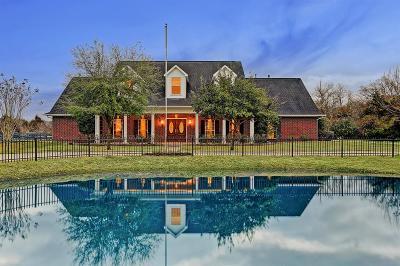 Alvin Single Family Home For Sale: 2275 Washington Avenue