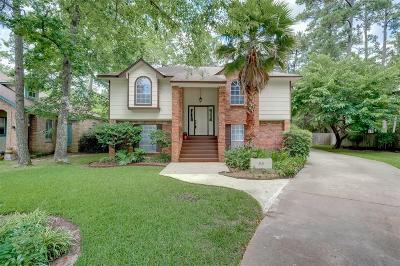 Conroe Single Family Home For Sale: 55 Hickory Oak Drive