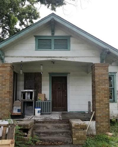 Houston Single Family Home For Sale: 110 Glendale Street