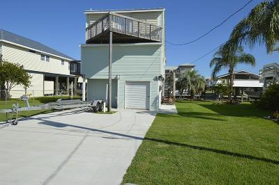 Galveston Single Family Home For Sale: 22121 Matagorda Drive