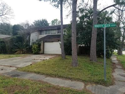 Houston Single Family Home For Sale: 12939 Knotty Glen Lane