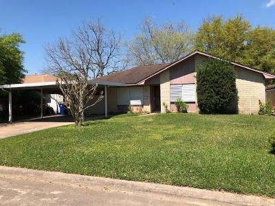 Texas City Single Family Home For Sale: 7310 Cardinal Circle