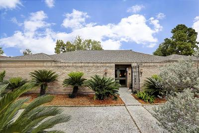 Houston Single Family Home For Sale: 11418 Lakeside Place