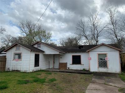 Houston Single Family Home For Sale: 4426 Knoxville Street