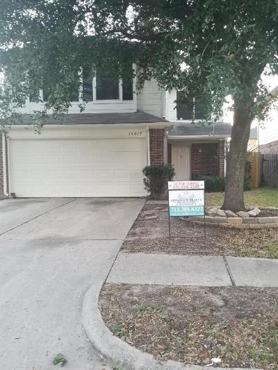 Houston Single Family Home For Sale: 16615 Vista Oak Drive