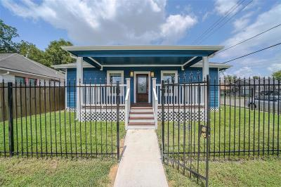 Houston Single Family Home For Sale: 6647 Avenue J