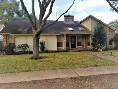 Houston Single Family Home For Sale: 15622 Four Leaf Drive