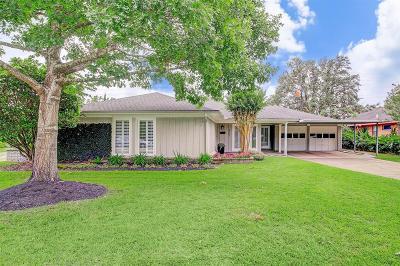 Houston Single Family Home For Sale: 4847 Knickerbocker Street