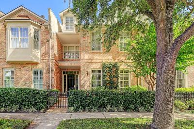Houston Condo/Townhouse For Sale: 2730 Wroxton Road