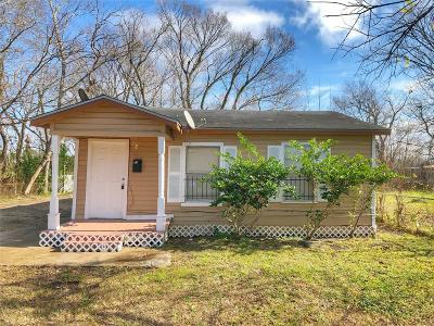 Houston Single Family Home For Sale: 8521 Lee Otis Street