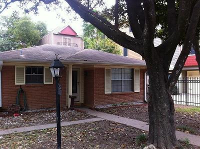 Houston Single Family Home For Sale: 526 Allston Street