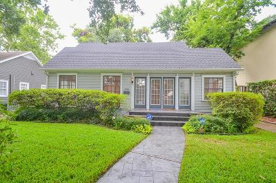 Houston Single Family Home For Sale: 2336 North Boulevard