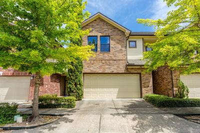Houston Condo/Townhouse For Sale: 5222 Brinkman Court