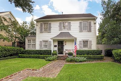River Oaks Single Family Home For Sale: 3451 Locke Lane