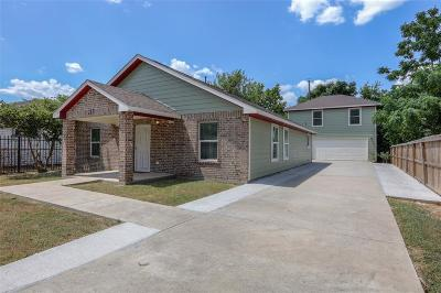 Harris County Single Family Home For Sale: 217 Armstrong Street