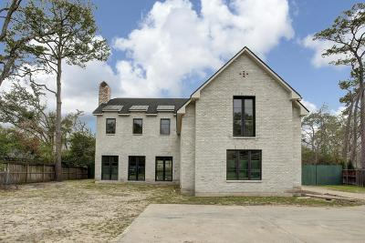 Houston Single Family Home For Sale: 1118 River Bend Drive