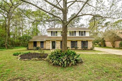 Conroe Single Family Home For Sale: 734 Stonewall Jackson Drive