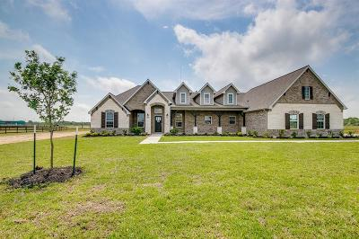 Alvin Single Family Home For Sale: 6911 Bayou Trail Drive