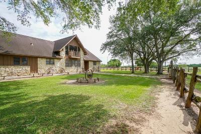 Wharton County Farm & Ranch For Sale: 2031 Fm 1163 Road