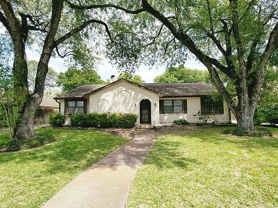 Houston Single Family Home For Sale: 1519 Ashford Parkway