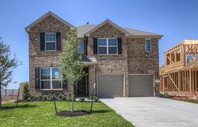 Rosenberg Single Family Home For Sale: 2414 Cherrington Woods Lane