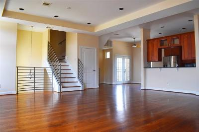 Houston Condo/Townhouse For Sale: 907 Rhode Place #B
