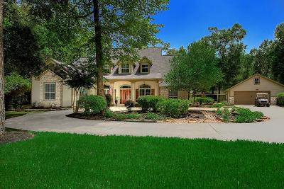 Conroe Single Family Home For Sale: 10929 Lake Forest Drive