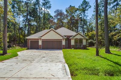 New Caney Single Family Home For Sale: 2542 Fountain View Street