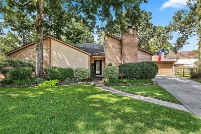 Kingwood Single Family Home For Sale: 3715 Wood Dale Drive