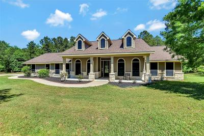 Grimes County Single Family Home For Sale: 17783 W Terrace Oaks Drive