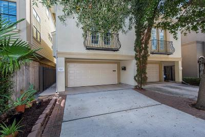 Houston Condo/Townhouse For Sale: 522 Detering Street