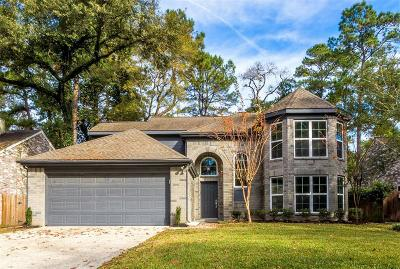 The Woodlands Single Family Home Pending Continue to Show: 106 S Village Knoll Circle